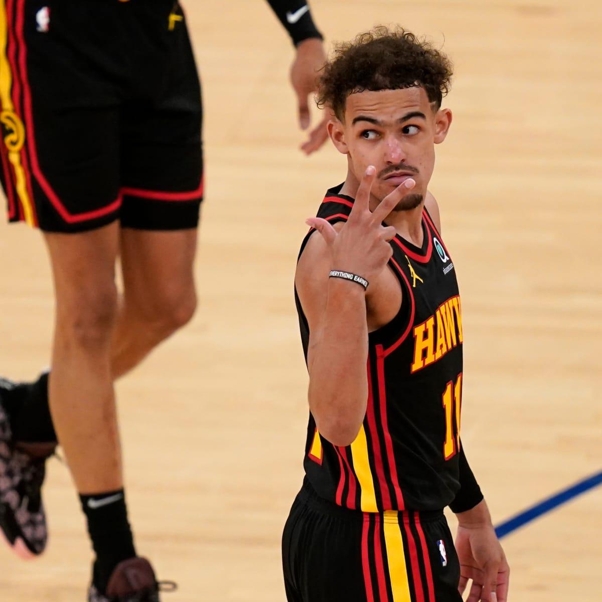 Trae Young of the Atlanta Hawks